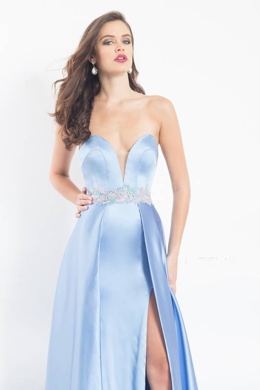 Periwinkle prom dress
